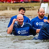 Duke Energy shows support by sending respresentatives as VIP plungers. Staff Photo By Josh Hicks