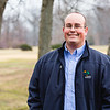 Ken Cornklin, Communications Director at Clarksville's Parks and Recreation department, stands in front of a treeline at Lapping Park on Wednesday. Staff photo by Josh Hicks