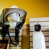 Pearls on Pearl in New Albany retails a variety of beekeeping supplies, such as this hat and veil. Staff Photo By Josh Hicks