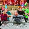 Crayons, also known as Southern Indiana Rehab, dive deep to show the group's commitment during the Special Olympic Polar Plunge at Deam Lake in Borden on Saturday. Staff Photo By Josh Hicks