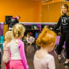 Patty Simmonds leads preschool girls in a dance number at Simmonds' Dance Studio in Jeffersonville on Saturday. Staff Phoot By Josh Hicks