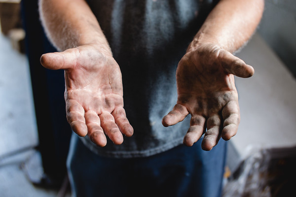 Sam Grider has kept his hands dirty for 45 years. He will retire by the end of this month.
