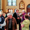 St. Mary's Catholic Church in New Albany draws a long line to receive ashes for Ash Wednesday. Staff Photo By Josh Hicks