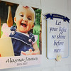 Alayna James died at 17 months this year. And now, her life is shining a light on the Safe Harbor Community Church day care. Staff Photo By Josh Hicks