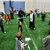 May the 4th Be With You brought child and adult Star Wars fans together for trivia, laser tag, and a costume contest at Silver Street Park on Thursday. Staff Photo By Josh Hicks