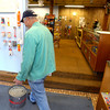 5-31-12<br /> Dave McCain opened DaveÕs Bait Barn<br /> Don Marcum stops in to purchase minnows.<br /> KT photo | Tim Bath