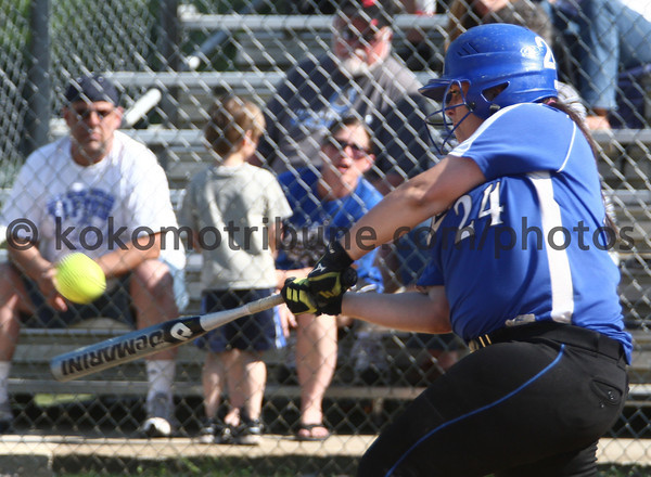 5-23-12<br /> Softball Sectional Tipton Vs Elwood HS<br /> <br /> KT photo | Tim Bath