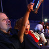 5-17-12<br /> Kelly Miller Circus operating out of the big tent in Future Park.<br /> Justin Potthoft, 3, sitting in his godmother's Cindy Birnell's lap enjoying the show.<br /> KT photo | Tim Bath