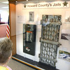 """5-17-12<br /> Retired Sgt Jerry Edwards and his wife Deloris """"Annie"""" Edwards view the display of items from the Howard County Jails over the years at the Howard County Sheriff Department.<br /> KT photo 