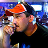 6-5-12<br /> Tommy Arnett sitting in the bar section of the bowling alley at Kokomo Sports Bowl. After the state ban goes into effect smoking will have to stop if minors are allowed even in the bowling alley. Therefore no smoking allowed.<br /> KT photo | Tim Bath