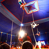 5-17-12<br /> Kelly Miller Circus operating out of the big tent in Future Park.<br /> One of the aerial acrobatic acts.<br /> KT photo | Tim Bath