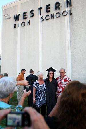 6-8-12<br /> Western HS Graduation<br /> <br /> KT photo | Tim Bath