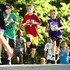 6-14-12<br /> Cyote Kids running event for kids at Jackson-Morrow Park.<br /> Middle of the 1 mile fun run.<br /> KT photo | Tim Bath
