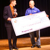 5-24-12<br /> Governor Mitch Daniels presented Tyler Barnes with $12,000 in scholarships Thursday and named him IndianaÕs Top Young Scientist and Mr. Science.<br /> KT photo | Tim Bath