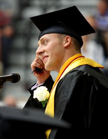 "6-1-12    for the KT   Roger Davis<br /> Taylor HS Graduation<br /> Class president - Donald ""Bo"" Jojn Bolinger, III"