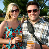 6-9-12<br /> Ribfest at Foster Park<br /> Claire Brelsford and fiance Eric Tanner<br /> KT photo | Tim Bath