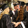 6-8-12<br /> Western HS Graduation<br /> Taylor Avery and Sarea Benzinger congratulating each other.<br /> KT photo | Tim Bath