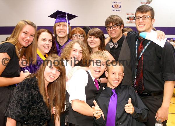 5-26-12<br /> Northwestern HS Graduation 2012<br /> <br /> KT photo | Tim Bath