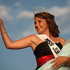 7-9-12<br /> Miss Howard County Junior Queen<br /> Lucy Mavrick waves to the audience after taking her walk as the new 2012 Miss Howard County Junior Queen.<br /> KT photo | Kelly Lafferty
