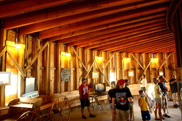 7-11-12<br /> HC Fair rides and food<br /> Round barn open for the first time to the general public.<br /> KT photo | Tim Bath