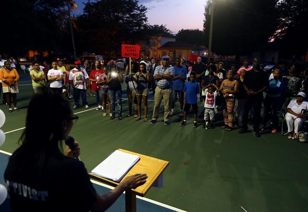 Black Lives Matter vigil
