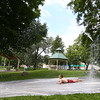 Water Spray Foster Park