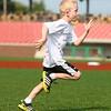 7-4-15<br /> Haynes Apperson Sports<br /> 6-year-old Isaac Everson runs in the Haynes Apperson kids track meet at the Kokomo Municipal Stadium on Saturday morning.<br /> Kelly Lafferty Gerber | Kokomo Tribune
