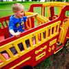 Kokomo Parks &  Recreation activities with Gabrial Craft, 6, playing at Highland Park on June 9, 2015.<br /> Tim Bath | Kokomo Tribune