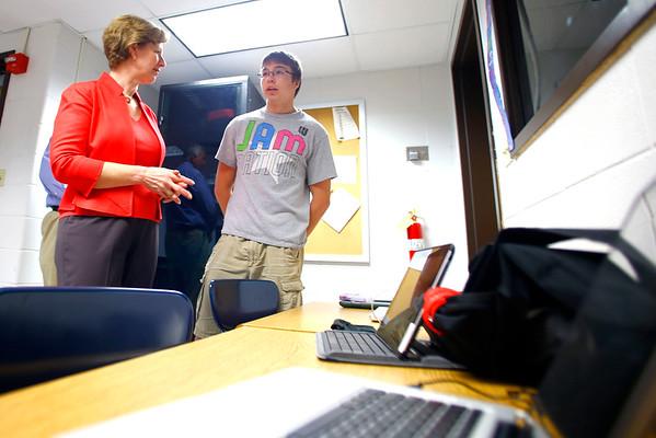 Susan Brooks at EHS