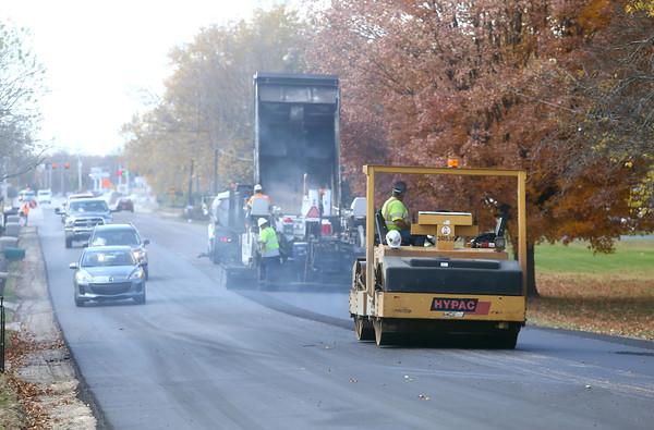 Center Road construction