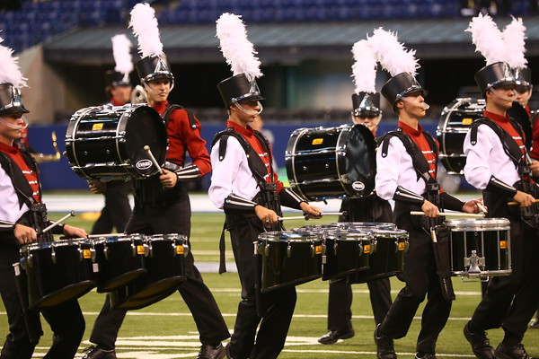 Western's Marching Panthers take first place in Class C at the ISSMA state finals on Saturday, November 7, 2015.<br /> Kelly Lafferty Gerber | Kokomo Tribune