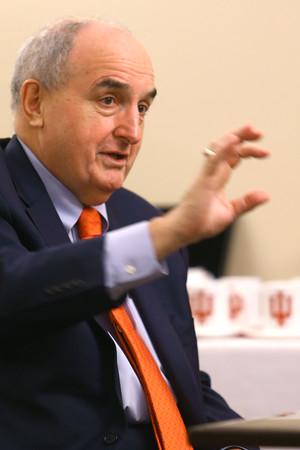 IU President McRobbie