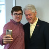 Former President Bill Clinton visits Kokomo
