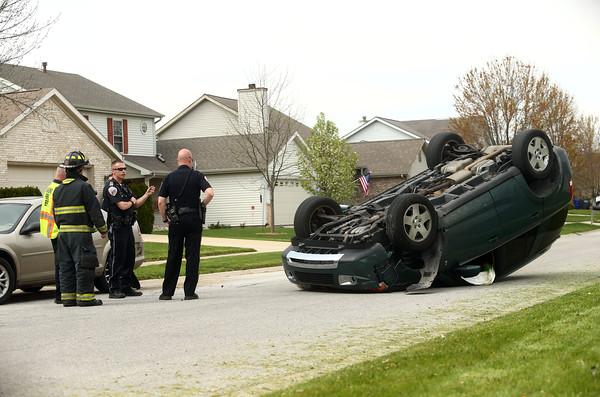accident in subdivision