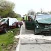 Accident SR 22 and 400 E