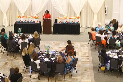 Women in Business luncheon with  keynote speaker Sharon Reed Corbett  on Aug 16, 2016 Tim Bath | Kokomo Tribune