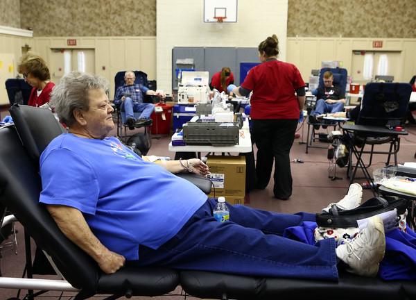 Gradyn Rogers blood drive