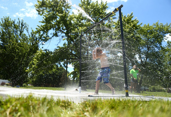 Water Spray at Lafayette Park School