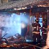N. Buckeye St fire