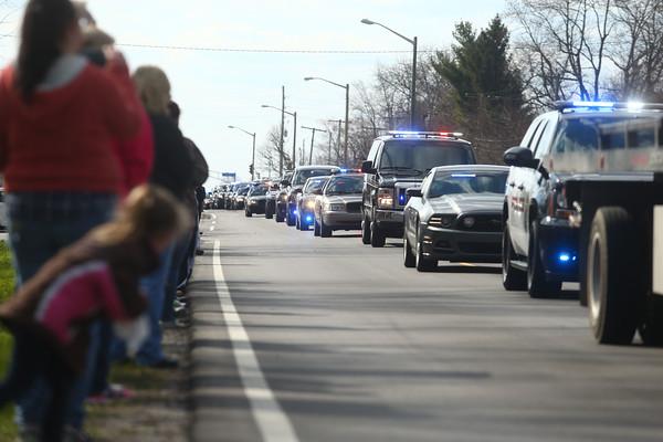 Deputy Koontz procession