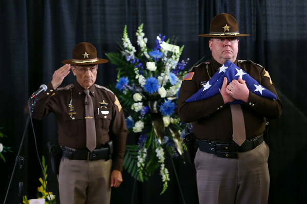 Koontz flag Ceremony