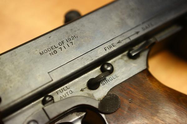 Tommy Gun Peru Police Dept