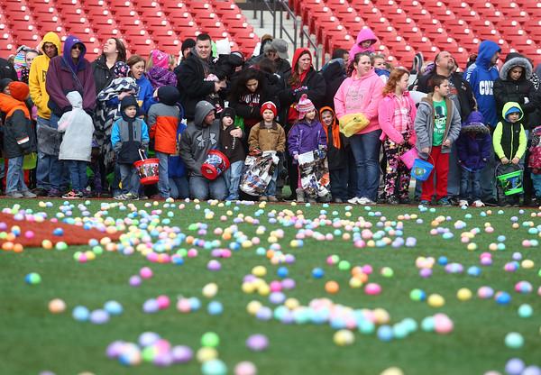 Egg Drop at Kokomo Municipal Stadium