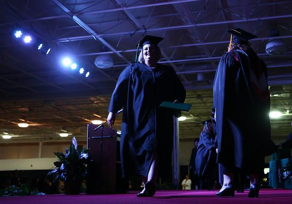 Ivy Tech graduation on Saturday, May 7, 2016.<br /> Kelly Lafferty Gerber   Kokomo Tribune