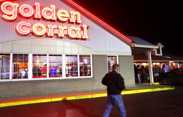 Vet meal at Golden Corral