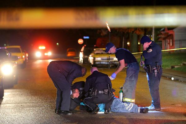 Shooting on Dixon Street