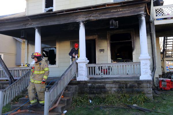 Flora House Fire
