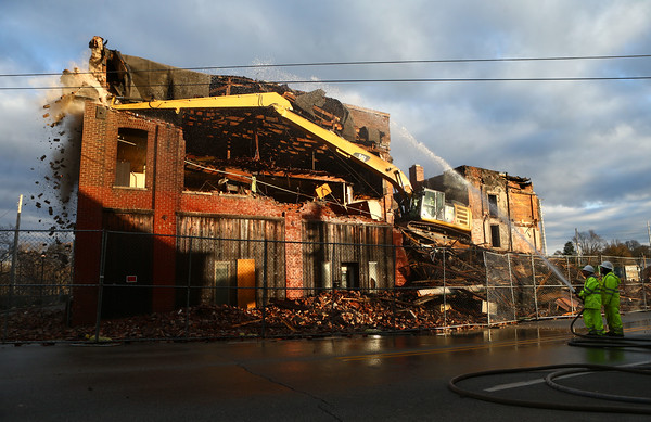 NISCO building demolition
