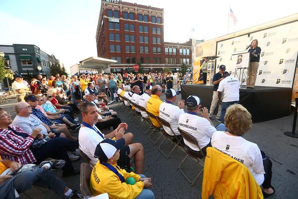 Howard County Bicentennial torch relay