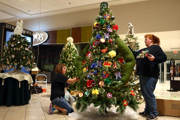 We Care tree decorating